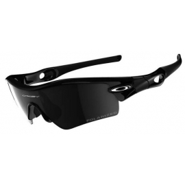 oakley radar pitch jet black black iridium polarized