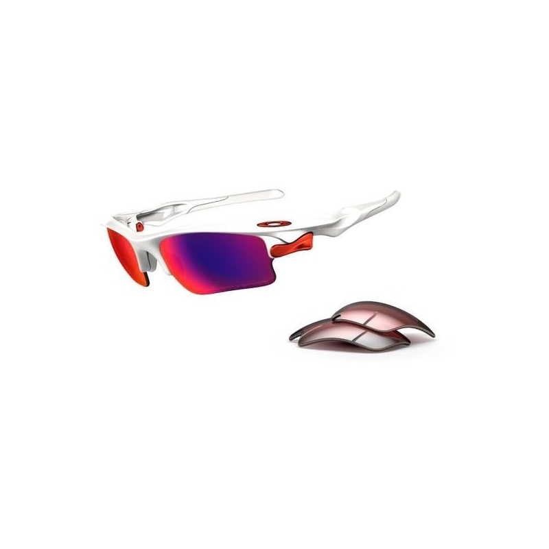 30597944e29 Oakley Fast Jacket White And Red « Heritage Malta
