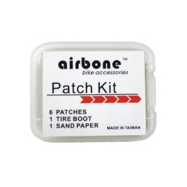 6 patchs autocollants Airbone ZT-610