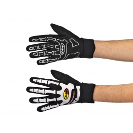 Gants Northwave Skeleton W Gel Gloves Black - White
