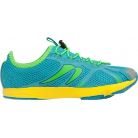 Chaussures Femme Newton Running Tri Racer 2015 Women Deep Sky Blue - Lime