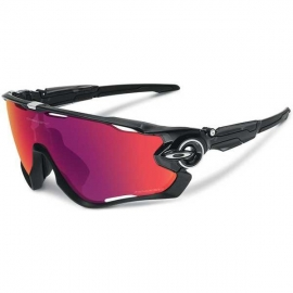 Oakley Jawbreaker BLACK INK OO RED IRIDIUM POLARIZED