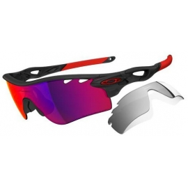 Lunettes Oakley Radarlock MATTE BLACK INK OO RED POLARIZED VENTEDPath