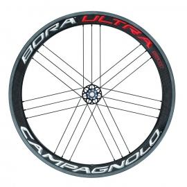 Paire Roues Campagnolo BORA ULTRA 50 BRIGHT LABEL pneus