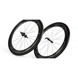Paire Roues HED JET 6 BLACK pneu
