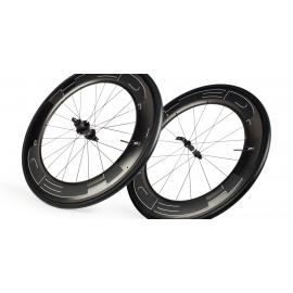 Paire Roues HED JET 9 BLACK pneu