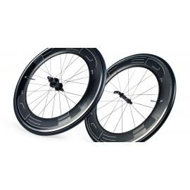Paire roues HED JET 9 PLUS pneu