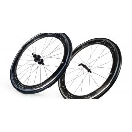Paire roues HED JET 6 PLUS pneu