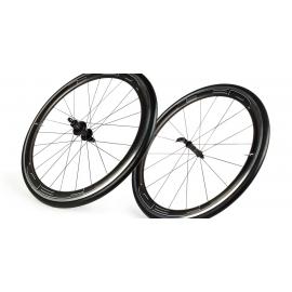 Paire roues HED JET 4 PLUS pneu