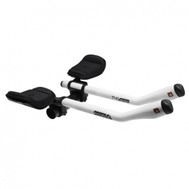 Clip on Profile Design T4 Plus Carbon Blanc