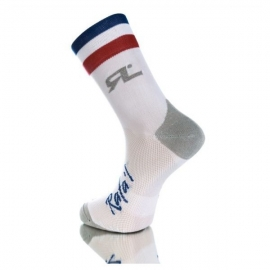 Chaussettes RAFA'L CARBONE Selection 2 FRANCE White