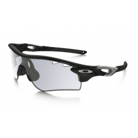 OAKLEY RADARLOCK PATH Polished Black Silver - Clear Black Iridium - Photocromic - Vented
