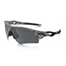 OAKLEY RADARLOCK PATH FINGERPRINT Polished White - Black Iridium - Polarized CL