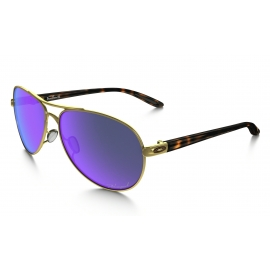 OAKLEY Feedback Polished Gold - Violet Iridium Polarized OO4079-18