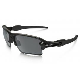 OAKLEY FLAK 2.0 XL Polished Black - Black Iridium Polarized OO9188-08