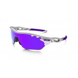 OAKLEY RADARLOCK EDGE Polished White - Violet VENTED - VR28 VENTED