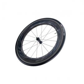 Roue avant ZIPP 808 Nest Speed Weaponry Carbon pneu
