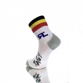 Socquettes RAFA'L CARBONE Selection 2 BELGIQUE Black
