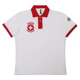 Polo Homme ASSOS SS Swiss Fed Man - 2017 - Signature Collection