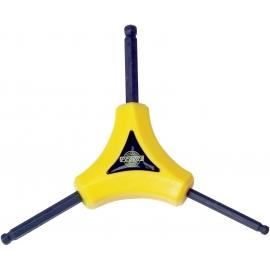 Clé Hexagonale en Y PEDROS Y Hex - 4mm ,5mm ,6mm avec embout sphérique