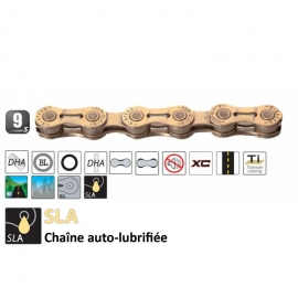 Chaine 9 vitesses Yaban SFL H9 TI