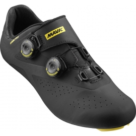 Chaussures Route MAVIC Cosmic Pro Black / Yellow - 2017