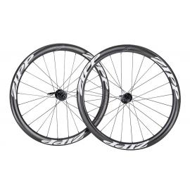 Paire Roues Zipp 302 Carbon Disc pneu