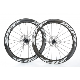 Paire Roues Zipp 404 Carbon tubeless Disc Brake 2018