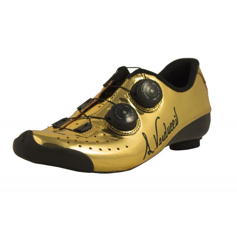 Standard Verducci Luigino Gold Vr01 Route Chaussures Vélo 54RS3ALqcj