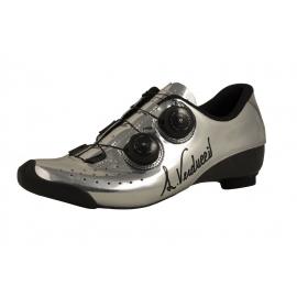 LUIGINO VERDUCCI VR01 Standard Silver - Chaussures Vélo Route