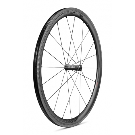 Paire de roues Xentis Squad 4.2 SL Race Black Matt - pneu tubeless ready