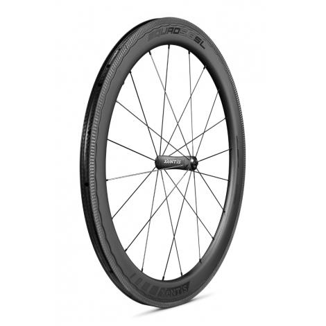 Paire de roues Xentis Squad 5.8 SL Race Black Matt - pneu tubeless ready