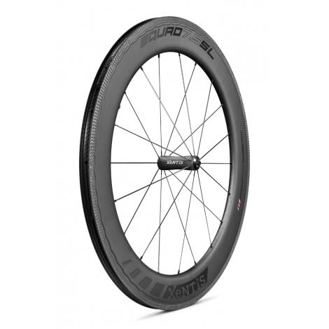 Paire de roues Xentis Squad 7.5 SL Race Black Matt - pneu tubeless ready