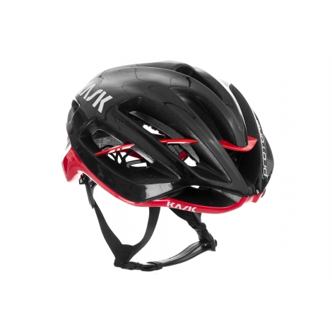 casque kask protone black red planetecycle. Black Bedroom Furniture Sets. Home Design Ideas