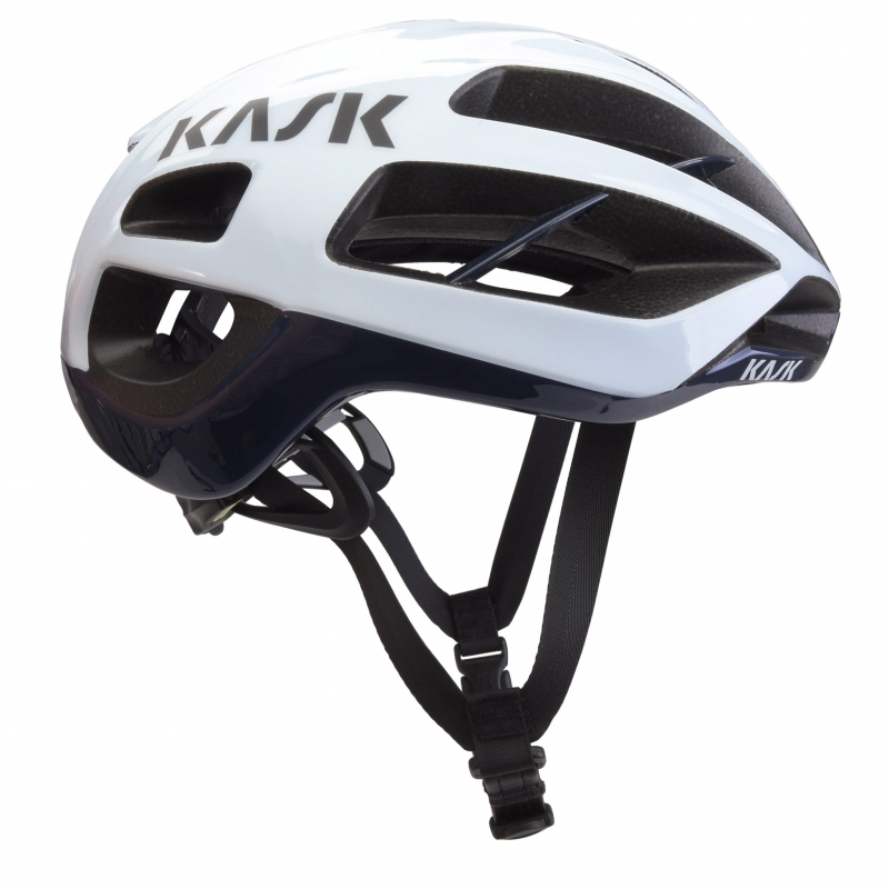 casque kask protone blue navy white planetecycle. Black Bedroom Furniture Sets. Home Design Ideas