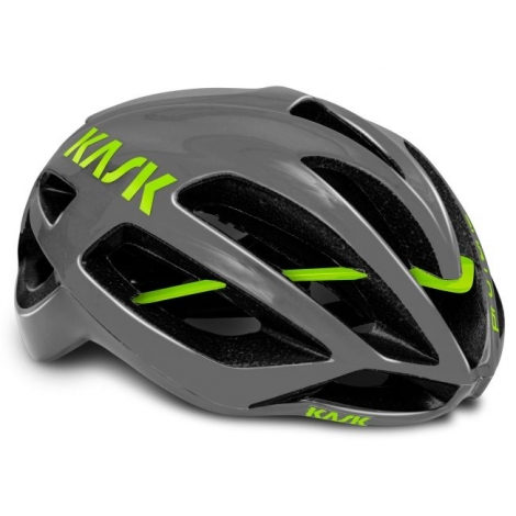 casque kask protone anthracite lime planetecycle. Black Bedroom Furniture Sets. Home Design Ideas