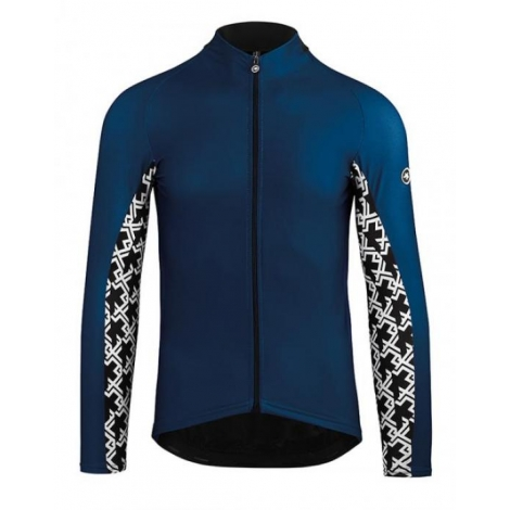 Maillot manches longues Homme ASSOS LS JERSEY MILLE GT - caleumBlue