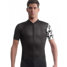 Maillot manches courtes ASSOS Equipe Jersey evo8 - blackSeries