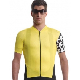 Maillot manches courtes ASSOS Equipe Jersey evo8 - voltYellow