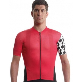 Maillot manches courtes ASSOS Equipe Jersey evo8 - nationalRed