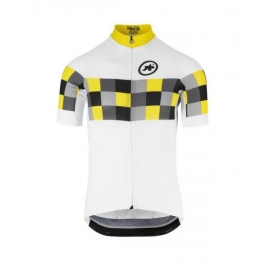 Maillot manches courtes Homme ASSOS SS GRAND PRIX JERSEY EVO8 - voltYellow