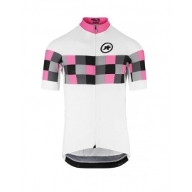 Maillot manches courtes Homme ASSOS SS GRAND PRIX JERSEY EVO8 - pantherPink