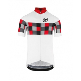 Maillot manches courtes Homme ASSOS SS GRAND PRIX JERSEY EVO8 - nationalRed