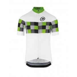 Maillot manches courtes Homme ASSOS SS GRAND PRIX JERSEY EVO8 - pitonGreen