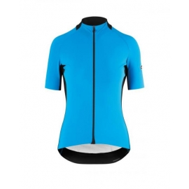 Maillot manches courtes Femme ASSOS SS JERSEY LAALALAI EVO - corfuBlue