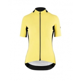 Maillot manches courtes Femme ASSOS SS JERSEY LAALALAI EVO - canarYellow