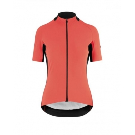 Maillot manches courtes Femme ASSOS SS JERSEY LAALALAI EVO - lavaOrange