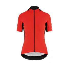 Maillot manches courtes Femme ASSOS SS JERSEY LAALALAI EVO - nationalRed