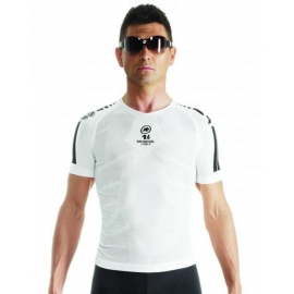 Sous vetement manches courtes ASSOS SS SKINFOIL SUMMER EVO7 - holyWhite