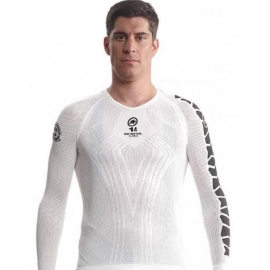 Sous vetement manches longues ASSOS LS SKINFOIL SUMMER EVO7 - holyWhite